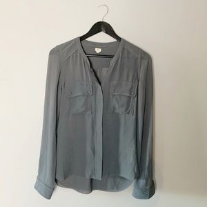 💋SALE 100% silk Wilfred blouse